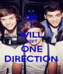 I WILL MEET ONE DIRECTION - Personalised Poster A4 size