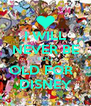 I WILL NEVER BE TOO OLD FOR   DISNEY - Personalised Poster A4 size