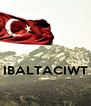 IBALTACIWT  - Personalised Poster A4 size