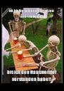 Ich bleibe solange hier sitzen und trinke Bier bis ich den Hausmeister verstanden habe!! - Personalised Poster A4 size