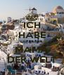 ICH HABE DIE BESTE MAMA DER WELT - Personalised Poster A4 size