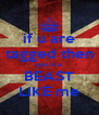 if u are tagged then you is a  BEAST LIKE me - Personalised Poster A4 size