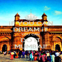 iF YOU CAN DREAM iT YOU CAN  DO IT MUMBAI! - Personalised Poster A4 size
