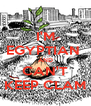 I'M EGYPTIAN  AND CAN'T KEEP CLAM - Personalised Poster A4 size