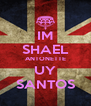 IM SHAEL ANTONETTE UY SANTOS - Personalised Poster A4 size