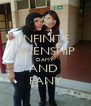 INFINITE FRIENSHIP DAMY AND  FANY - Personalised Poster A4 size