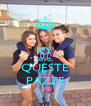 IO  AMO QUESTE PAZZE - Personalised Poster A4 size