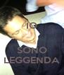 IO   SONO LEGGENDA - Personalised Poster A4 size