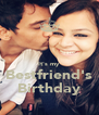 It's my Bestfriend's Birthday - Personalised Poster A4 size