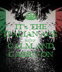 IT's THE ITALIAN ACE KEEP  CALM AND CARRY ON - Personalised Poster A4 size