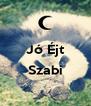 Jó Éjt  Szabi  - Personalised Poster A4 size
