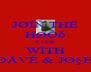 JØÏÑ THË HØÕð ÇLÛB WÏTH ÐÅVÈ & JاH - Personalised Poster A4 size