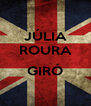 JÚLIA ROURA  GIRÓ  - Personalised Poster A4 size