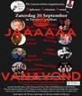 JAAAAAA    VANAVOND - Personalised Poster A4 size