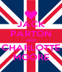 JACK PARTON AND CHARLOTTE MOORE - Personalised Poster A4 size