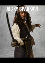 JACKY SPARROW  - Personalised Poster A4 size