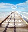 JADI TEMAN kok SOMBONG #justforSRH - Personalised Poster A4 size