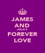 JAMES AND JULIA'S FOREVER LOVE - Personalised Poster A4 size