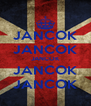 JANCOK JANCOK JANCOK JANCOK JANCOK - Personalised Poster A4 size