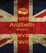 Jandriita  Arizbeth  BecerriiIl  Galvan  Maraviillas - Personalised Poster A4 size