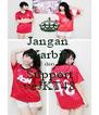 Jangan  Karbit dan Support veJKT48 - Personalised Poster A4 size