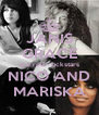 JANIS GRACE are real rockstars NICO AND MARISKA - Personalised Poster A4 size