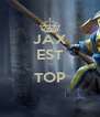 JAX EST  TOP  - Personalised Poster A4 size
