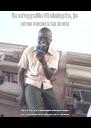 Je m'appelle Christophe, je suis moche et idiot je préfère fuir plutot que de répondre a des questions qui mettraient en doute ma croyance sur le profiteur Kacou - Personalised Poster A4 size