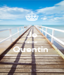 Je t'aime  Quentin   - Personalised Poster A4 size