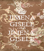 JIMENA GISELE COMO JIMENA  GISELE - Personalised Poster A4 size