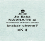 Jo Baka NAVRATRI ai thodak divas bhanvanu bandh!! brabar chene? oK ;) - Personalised Poster A4 size