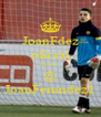 JoanFdez oficial twitter @ JoanFernndez1 - Personalised Poster A4 size