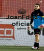 JoanFdez oficial twitter   - Personalised Poster A4 size