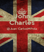 John Charles @Juan CarlosMPola   - Personalised Poster A4 size