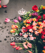 JOIN LA MAIN D'OEUVRE - Personalised Poster A4 size