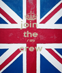 join  the 786 crew  - Personalised Poster A4 size