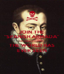 """JOIN THE """"SPANISH ARMADA"""" THE GREATEST FLEET THE WORLD HAS EVER SEEN - Personalised Poster A4 size"""