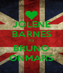 JOLENE BARNES <3 BRUNO ONMARS - Personalised Poster A4 size