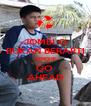 JOMBLO BUKAN BERARTI SENDIRI GO  AHEAD - Personalised Poster A4 size