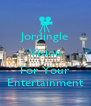 Jordingle Vision  For Your Entertainment - Personalised Poster A4 size