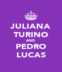 JULIANA TURINO AND PEDRO LUCAS - Personalised Poster A4 size