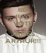 JUST VOTE FOR JAMES ARTHUR!!! - Personalised Poster A4 size