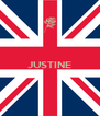 JUSTINE   - Personalised Poster A4 size