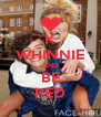K WHINNIE AND BE RED - Personalised Poster A4 size