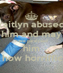 kaitlyn abused him and may have paralyzed him  how horriffic - Personalised Poster A4 size