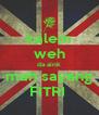 kalem weh da aink mah sayang FITRI  - Personalised Poster A4 size