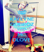 KALLYNE QUEIROZ LOVE MC DLOVE - Personalised Poster A4 size