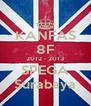 KANFAS 8F 2012 - 2013 SPEGA Surabaya - Personalised Poster A4 size