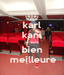 karl kani je suis bien  meilleure - Personalised Poster A4 size
