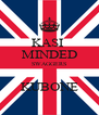 KASI  MINDED SWAGGERS  KUBONE - Personalised Poster A4 size